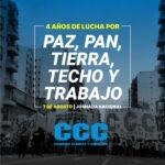 A 4 años de la marcha de los Cayetanos por Techo, Tierra y Trabajo