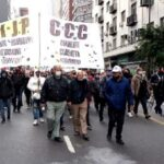 Los Jubilados del MIJP-CCC protagonizaron una gran jornada de lucha por un aumento de emergencia