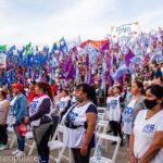 Gran acto de los Movimientos Populares por Tierra, Techo y Trabajo en Quilmes