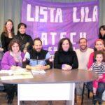 Solidaridad con la Lila de la Agrupación Ana Sosa de la CCC